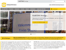 Tablet Preview of harting.se